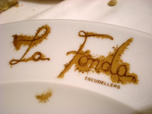 バルセロナ----お食事編--- LA  FONDA_c0179785_2322128.jpg