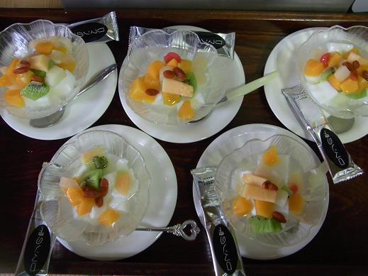 久子さんランチ 2009,8,17_e0108897_1551165.jpg