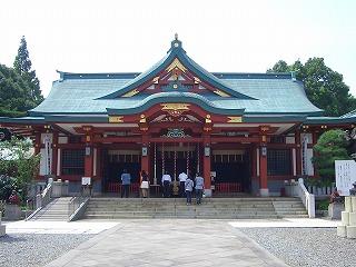 日枝神社  (十社巡り 2)_c0187004_2384950.jpg