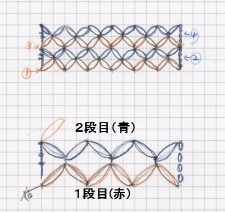 七宝編み 編み方動画 82