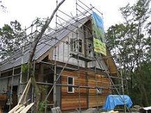 別荘地でのCozyUpHome外部工事と造作工事6_d0059949_10262091.jpg