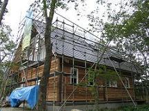 別荘地でのCozyUpHome外部工事と造作工事6_d0059949_10263452.jpg