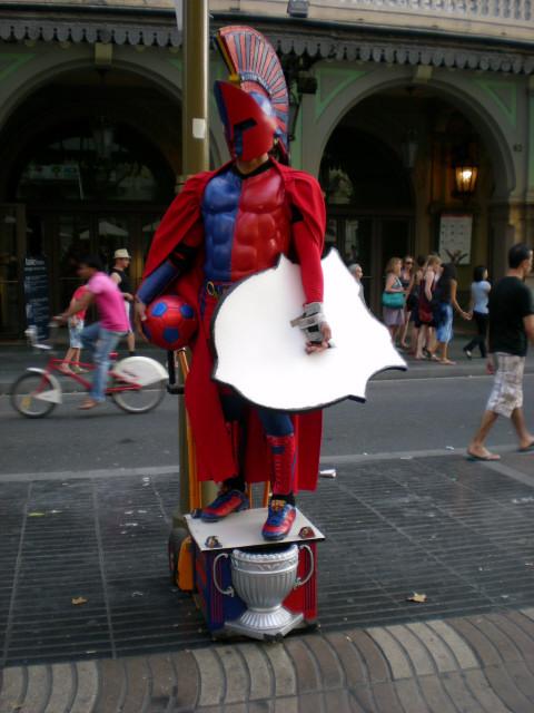 バルセロナ----ランブラス通り編_c0179785_216085.jpg