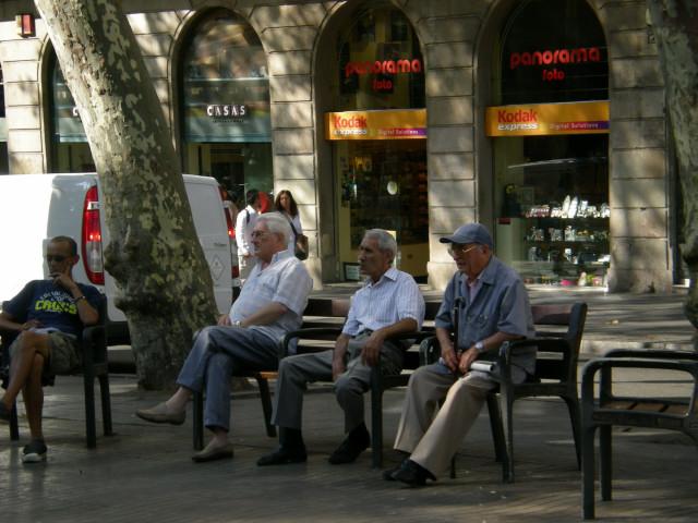 バルセロナ----ランブラス通り編_c0179785_2294361.jpg