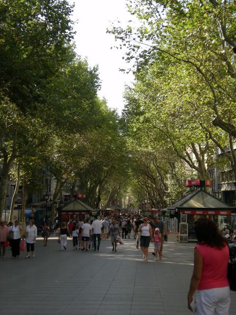 バルセロナ----ランブラス通り編_c0179785_272437.jpg