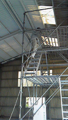 天井の塗装_f0108696_19295631.jpg