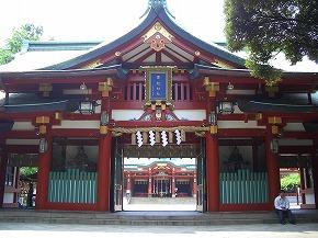 日枝神社  (十社巡り 2)_c0187004_22334216.jpg