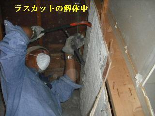 浴室リフォーム・解体工事・土間コン作業_f0031037_197596.jpg