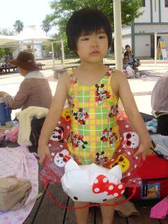 マコ、呉ポートピアのプールに行ったよ!_e0166301_1661136.jpg