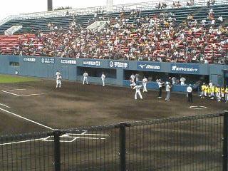 阪神VSソフトバンク野球観戦_c0150273_21332439.jpg