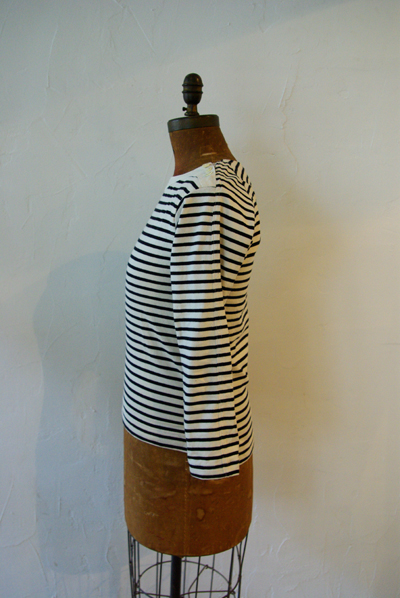 SAMPLE / BOAT NECK CUT AND SEWN_f0146547_10425042.jpg