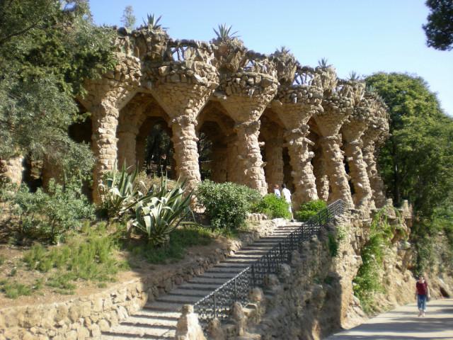 バルセロナ---ガウディに恋して---グエル公園編_c0179785_19313492.jpg