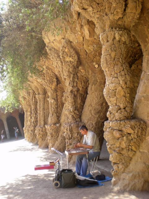 バルセロナ---ガウディに恋して---グエル公園編_c0179785_19321748.jpg