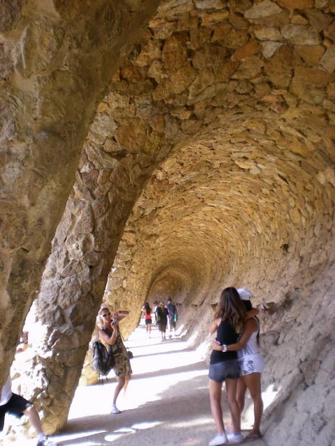 バルセロナ---ガウディに恋して---グエル公園編_c0179785_19324455.jpg