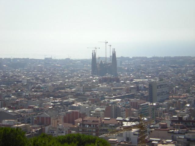 バルセロナ---ガウディに恋して---グエル公園編_c0179785_19515821.jpg