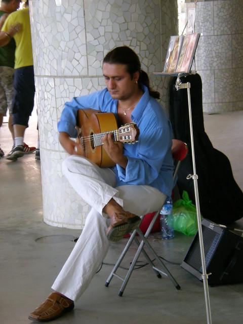 バルセロナ---ガウディに恋して---グエル公園編_c0179785_20585465.jpg