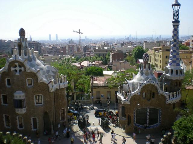 バルセロナ---ガウディに恋して---グエル公園編_c0179785_21123546.jpg