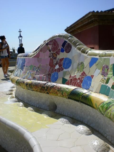 バルセロナ---ガウディに恋して---グエル公園編_c0179785_2164561.jpg