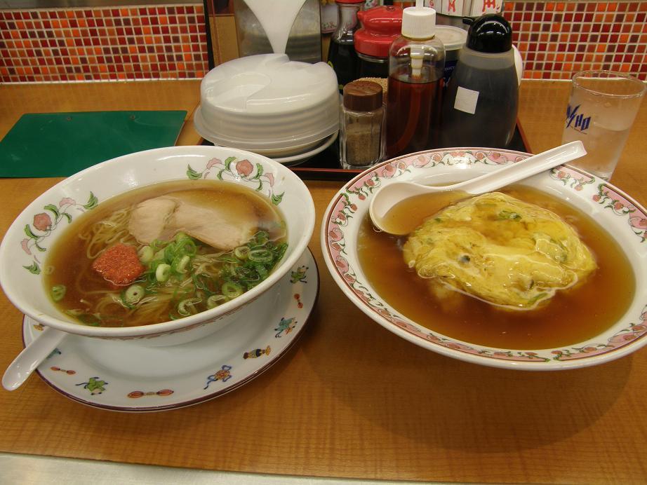 餃子の王将のサービスランチ    赤川店_c0118393_10291533.jpg