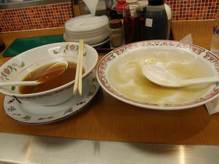 餃子の王将のサービスランチ    赤川店_c0118393_10462078.jpg