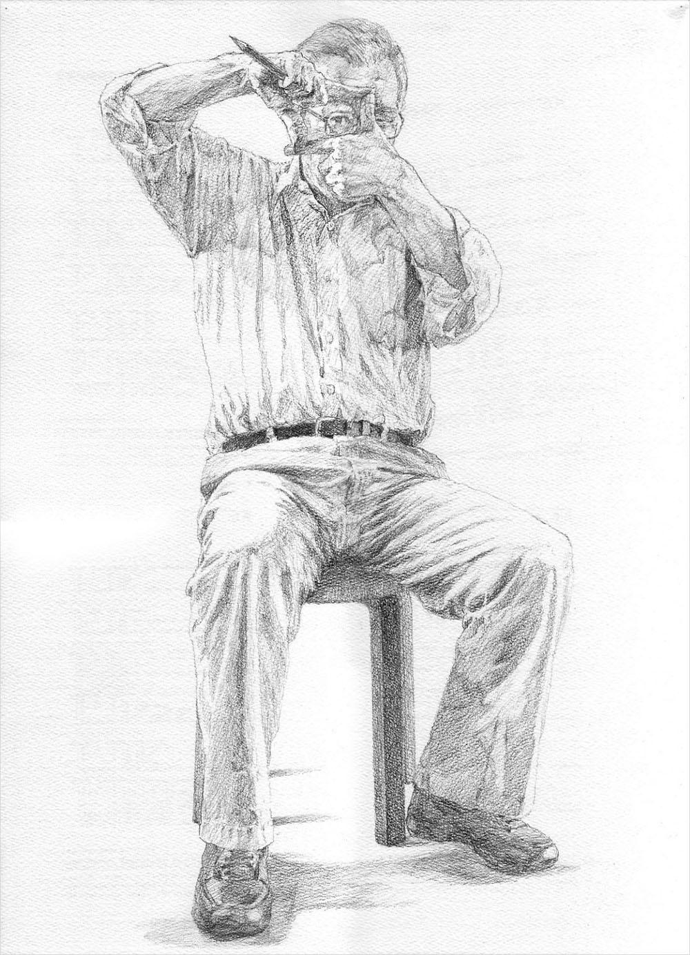 <93> 肖像画(2)_f0176500_16152356.jpg