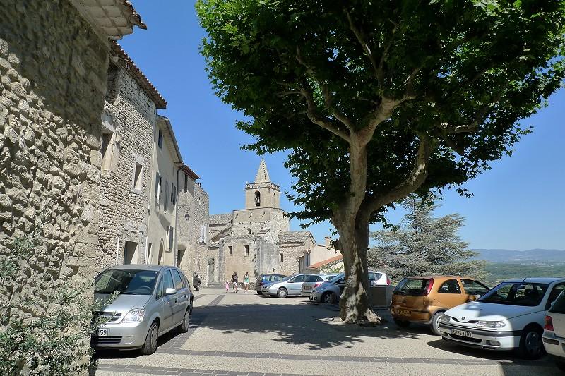南仏~パリの旅⑩ 南ローヌ4 ベナスク(Venasque)_d0113725_1235510.jpg