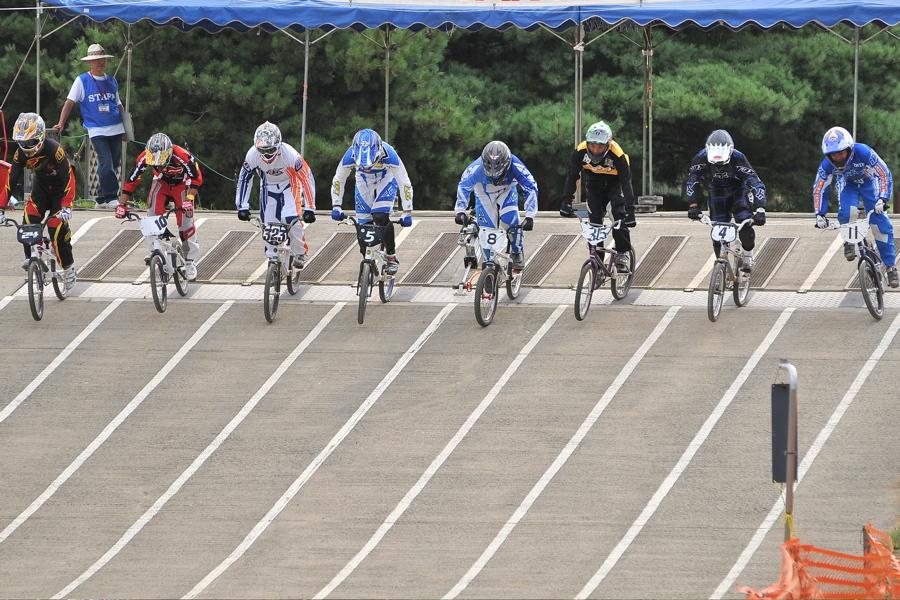 2009JBMXFジャパンシリーズ第3戦ひたち大会VOL1:スーパークラス決勝_b0065730_22562796.jpg