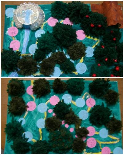 夏休み自由研究課題 「ポケモンの森 すごろく」_a0084343_9232053.jpg