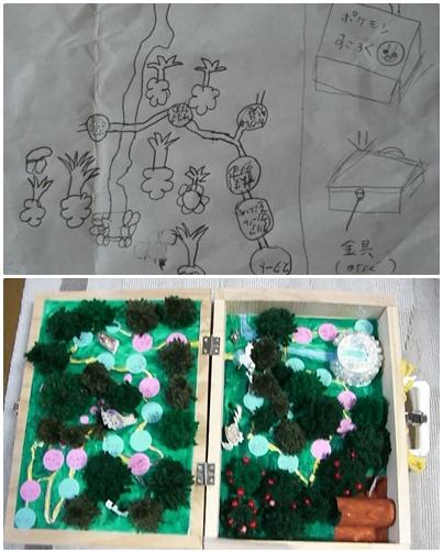 夏休み自由研究課題 「ポケモンの森 すごろく」_a0084343_9394182.jpg