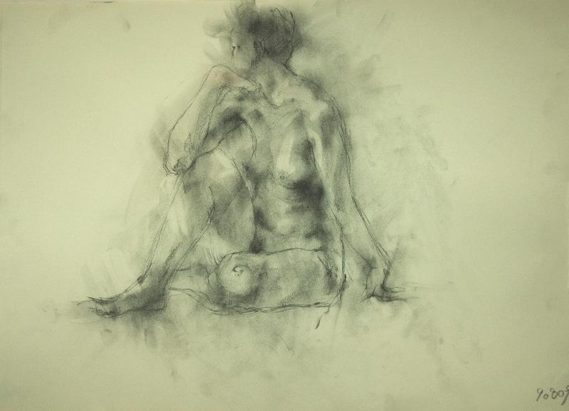 裸婦デッサン_f0159856_8212982.jpg