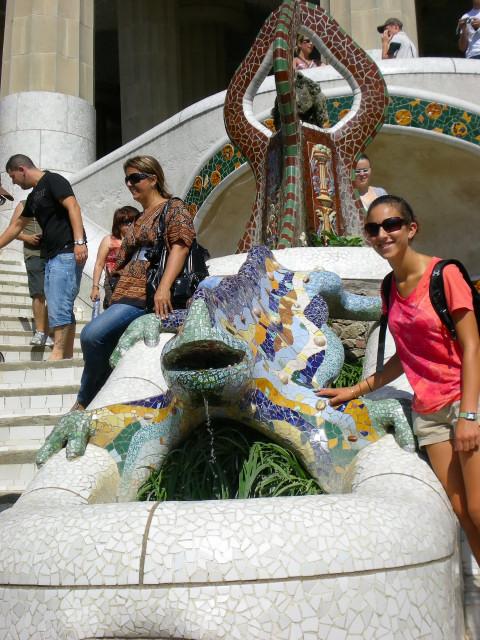 バルセロナ---ガウディに恋して---グエル公園編_c0179785_1513139.jpg