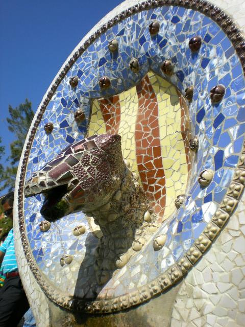 バルセロナ---ガウディに恋して---グエル公園編_c0179785_151591.jpg
