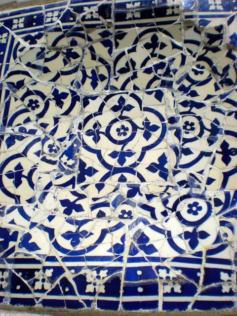 バルセロナ---ガウディに恋して---グエル公園編_c0179785_2112.jpg