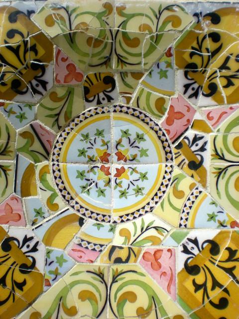 バルセロナ---ガウディに恋して---グエル公園編_c0179785_222940.jpg