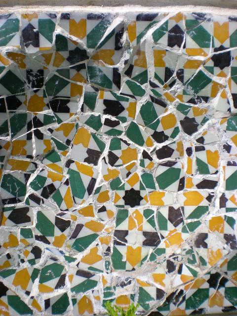 バルセロナ---ガウディに恋して---グエル公園編_c0179785_232150.jpg