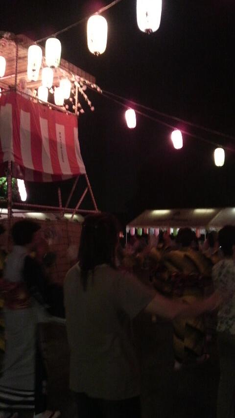 盆踊り♪_d0152192_22154210.jpg