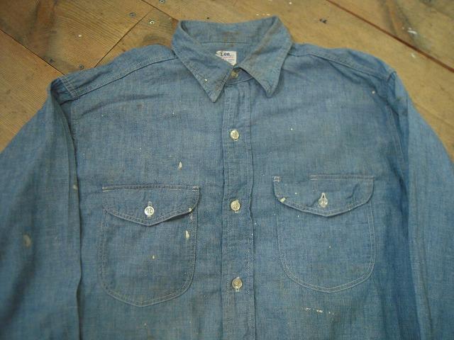 シャンブレーシャツ色々!_d0121303_12501287.jpg