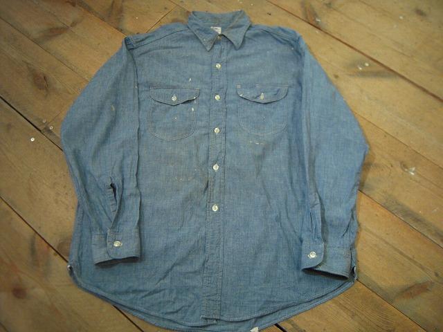 シャンブレーシャツ色々!_d0121303_1250187.jpg