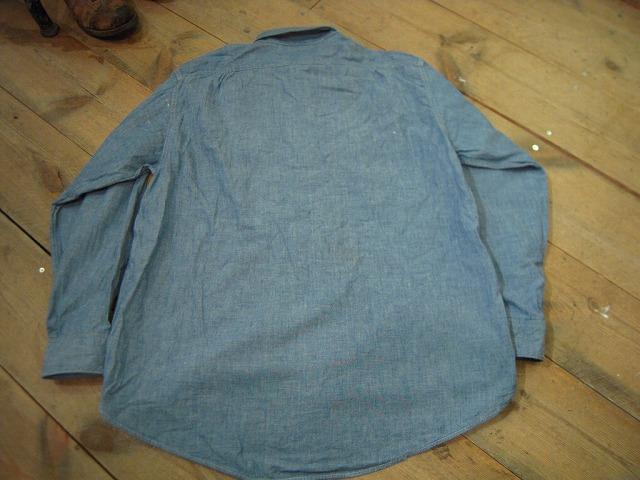 シャンブレーシャツ色々!_d0121303_12502685.jpg