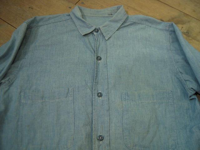 シャンブレーシャツ色々!_d0121303_1310516.jpg