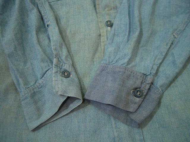 シャンブレーシャツ色々!_d0121303_13155642.jpg