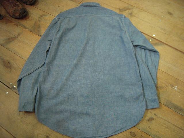 シャンブレーシャツ色々!_d0121303_1323914.jpg