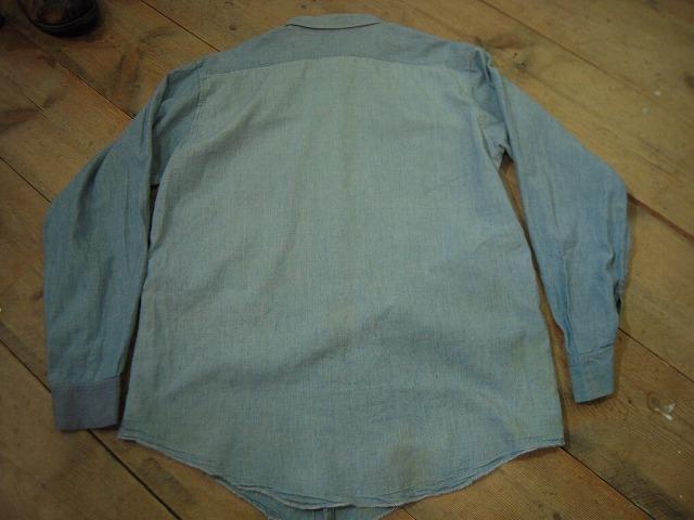 シャンブレーシャツ色々!_d0121303_1394751.jpg