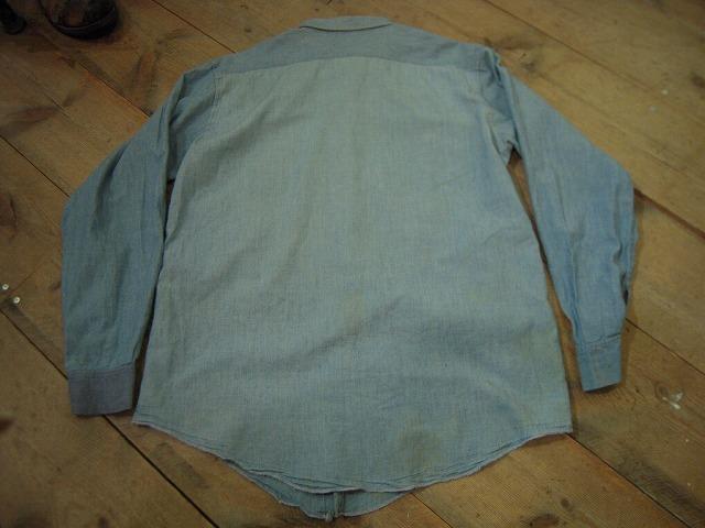 シャンブレーシャツ色々!_d0121303_1395288.jpg