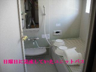 浴室リフォーム最後の仕上げ_f0031037_20284931.jpg