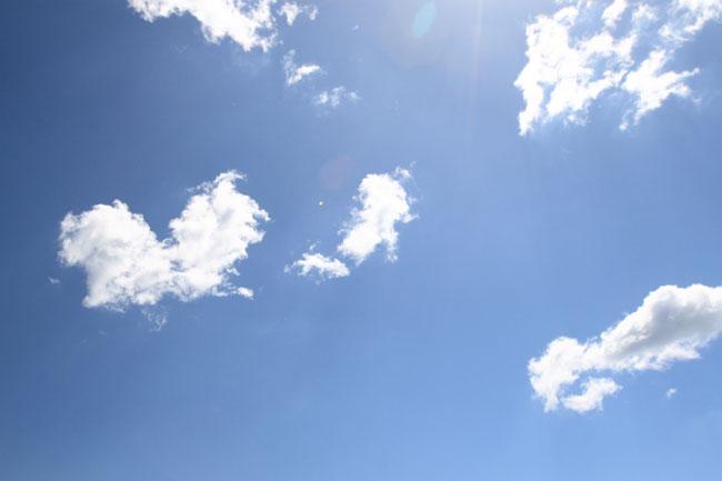 本日の空!そして スウィーツ♪_a0135756_14344916.jpg