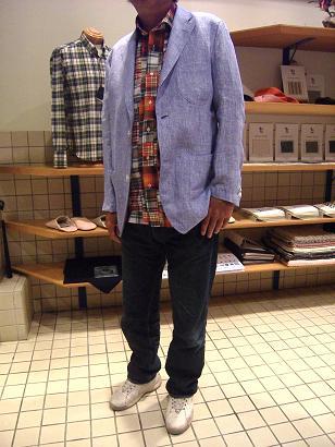 """'09 夏の思い出 「オーダーシャツ&シャツジャケット」で""""自分スタイル""""&""""マクリ""""のすすめ編_c0177259_16165053.jpg"""