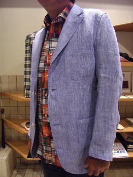 """'09 夏の思い出 「オーダーシャツ&シャツジャケット」で""""自分スタイル""""&""""マクリ""""のすすめ編_c0177259_16174351.jpg"""