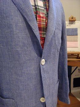 """'09 夏の思い出 「オーダーシャツ&シャツジャケット」で""""自分スタイル""""&""""マクリ""""のすすめ編_c0177259_16181741.jpg"""