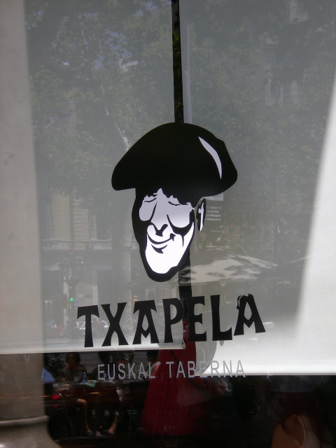バルセロナ---お食事編---TXAPELA_c0179785_065311.jpg